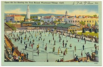 Westwood, Los Angeles - Westwood Village ice skating in the 1930s