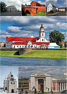 Orsha City in Vitebsk Region, Belarus