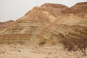 Grofit - Ora Formation (Cretaceous) at Grofit Junction.