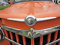 Orange Willys 1951 NOLA hood logo.JPG