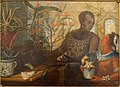 Orangerie scene with allegories of Africa and America, by Joseph Anton Glantschnigg, c. 1745 - Mainfränkisches Museum - Würzburg, Germany - DSC04458.jpg
