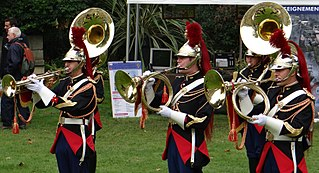 Fanfare band type of marching bands