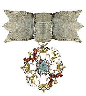 Adam Gottlob Moltke - Ordre de l'Union Parfaite