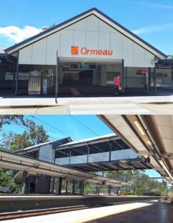Ormeau railway station