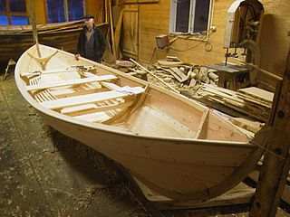 Oselvar Wooden rowing boat traditionally used in Norway