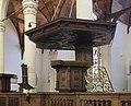 Oude Kerk pulpit 1736.jpg