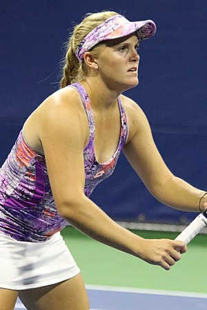 Melanie Oudin - Oudin at the 2016 US Open