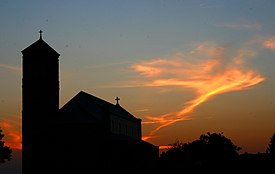 Our Lady of Perpetual Help Church silhouette altus arkansas.jpg