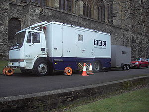 Outside broadcasting - Image: Outside broadcast van