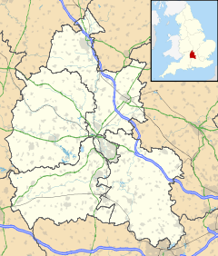 Longworth is located in Oxfordshire
