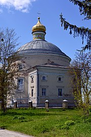 Ozdenizh Rozhyshchenskyi Volynska-Our Lady of Kazan church-east view-1.jpg