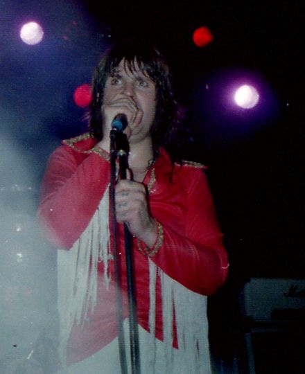 Osbourne performing in support of Blizzard of Ozz in Cardiff, Wales Ozzy Osbourne Cardiff 1980.jpg
