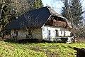 Pörtschach Almweg Bauernhaus Pörtschacher Alm NW-Ansicht 26122014 8431.jpg