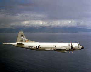 VP-17 - VP-17 P-3B off Oahu in 1976