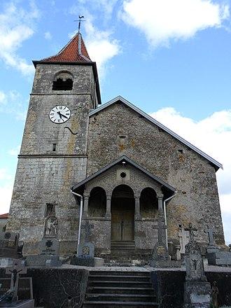 Aouze - The church in Aouze