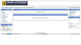 Screenshot di PHP-Fusion