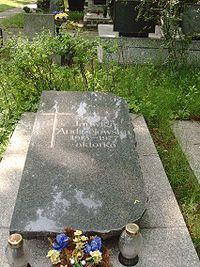 PL lodz Doly Cmentary Jadwiga Andrzejewska.jpg