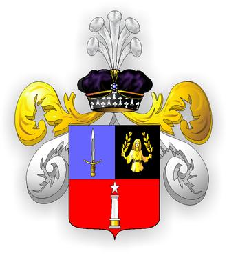 Alexandre Colonna-Walewski - Arms of Colonna-Walewski