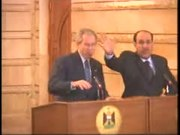 File:POTUS George W. Bush with Prime Minister of Iraq, Part 2.webm