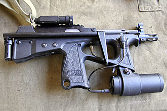 PP-2000 - PP-2000 with Zenit-4TK laser sight and tactical light.