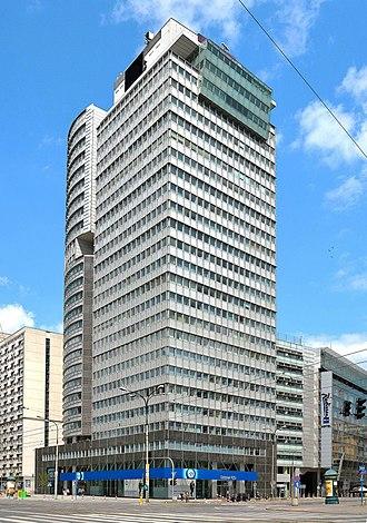 Powszechny Zakład Ubezpieczeń - PZU Tower, headquarters of PZU Group in Warsaw