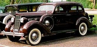 Packard One-Twenty - 1937 Packard One-Twenty Touring Sedan