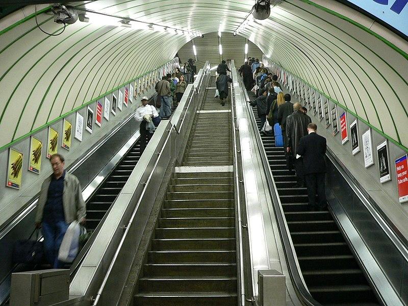 filepaddington bakerloo line escalatorsjpg wikipedia