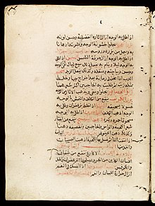 Page from an Arabic Text Wellcome L0033664.jpg