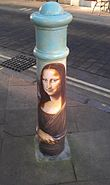 Painted Bollard, Winchester 33