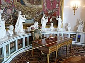 Pavlovsk Palace: The cabinet of Maria Feodorovna. (Source: Wikimedia)