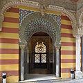 Palacio de Orléans y Borbón (Sanlúcar de Barrameda). Entrada.jpg