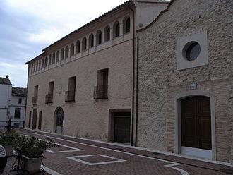 Castellonet de la Conquesta - Image: Palau dels Marquessos d'Almunia a Castellonet