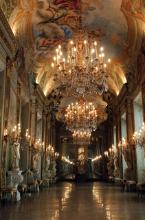 Palaces in Genoa, Italy. UNESCO World Heritage Site