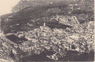 Palmi - View of Palmi at the beginning of the 20th century