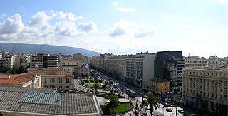 Akadimia, Athens Neighborhood in Athens, Attica, Greece