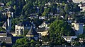 Panorama Château de Chambéry tôt le matin (juin 2017).JPG