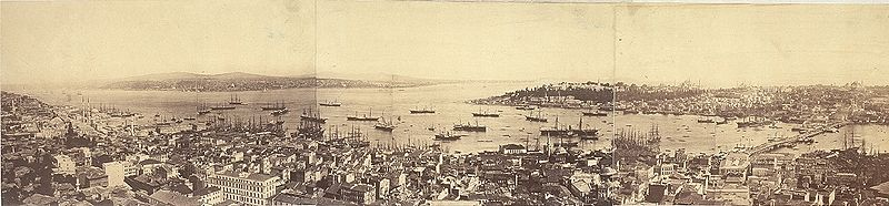 800px Panoramic view of Constantinople 1876 6a23331r