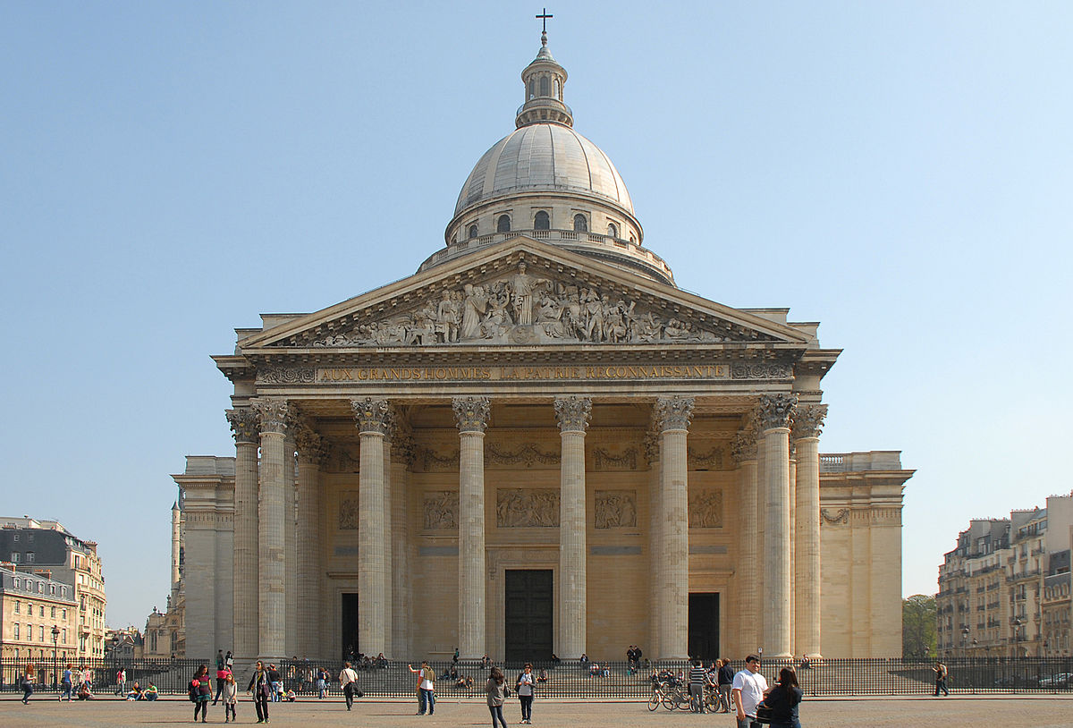 pantheon in paris Here are some facts about the pantheon in paris.