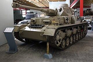 Panzer IV German WWII medium tank