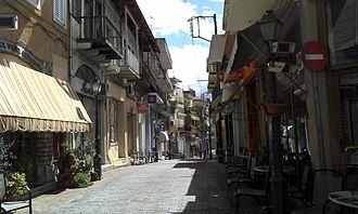 Paramythia - Central street of Paramythia