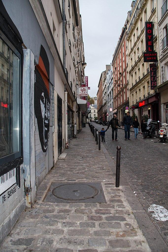 File paris 75018 rue andr antoine h tel des beaux wikimedia commons - Rue des beaux arts ...