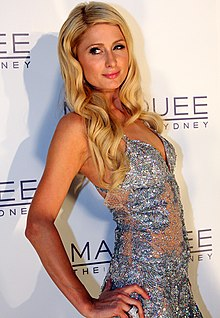 Paris Hilton nel 2012
