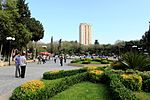 Park in Nərimanov raion, Baku, 2010.jpg