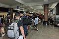 Passengers Leaving 1st Platform, TRA Hualien Station in Midnight 20170923.jpg