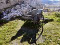 Passo Valparola - Forte Tre Sassi cannone 02.jpg