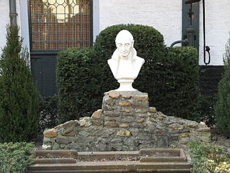 Charles of Mount Argus - Bust of St. Charles in Munstergeleen