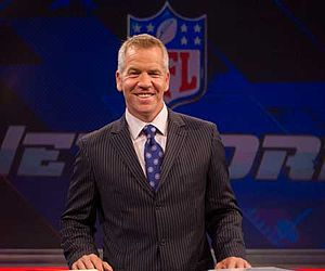Paul Burmeister - Paul Burmeister behind the desk at NFL Network