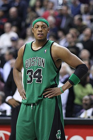 Paul Pierce won the 2010 Foot Locker Three-Poi...