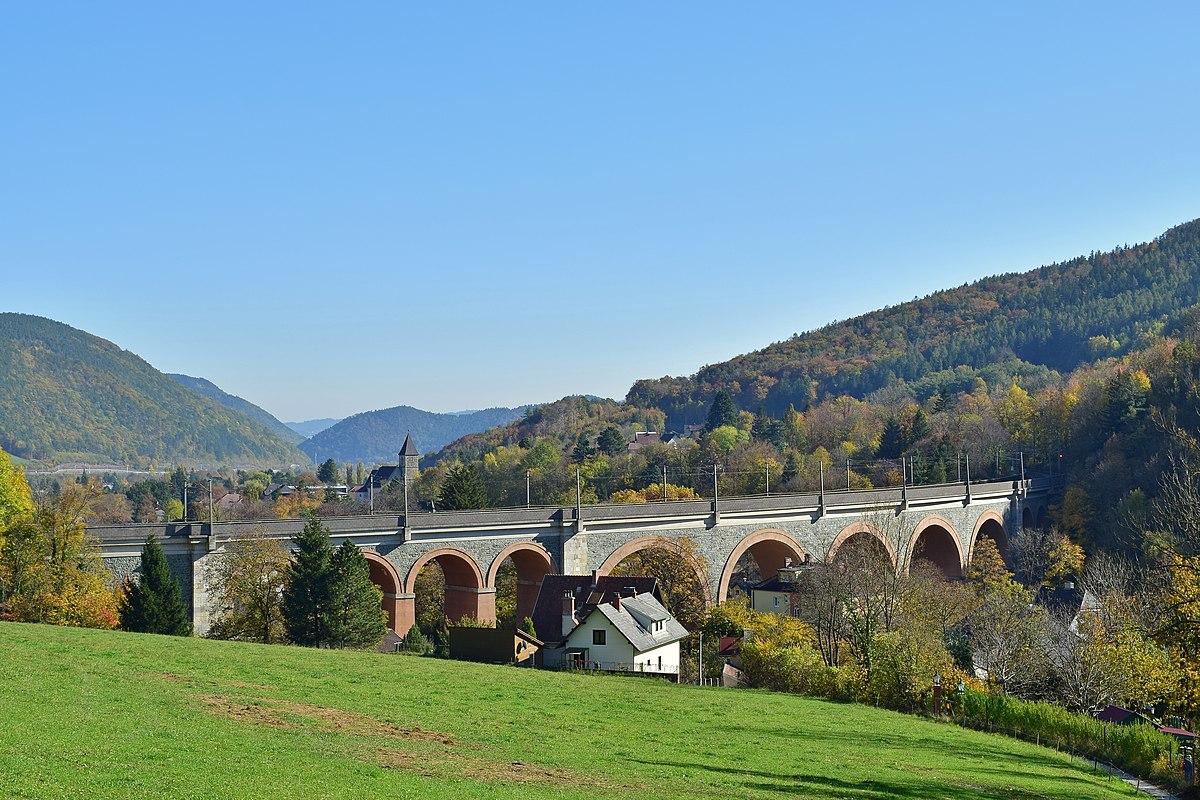 Liste der Viadukte der Semmeringbahn