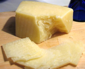 Pecorino romano on board cropped.PNG